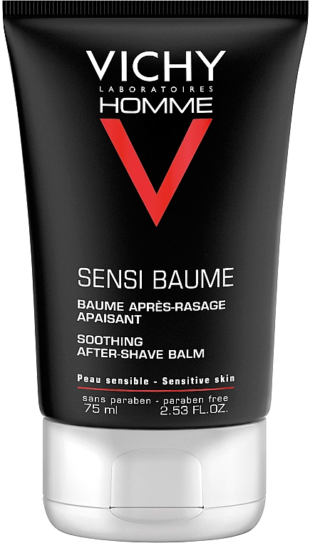 Set - Vichy Homme Sensitive After-Shave (foam/200ml + a/sh/balm/75ml + bag) — Imagine N2