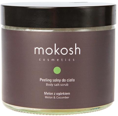 "Scrub pentru corp ""Pepeni și castraveți"" - Mokosh Cosmetics Body Salt Scrub Melon & Cucumber (mini) — Imagine N1"