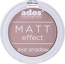 Parfumuri și produse cosmetice Fard de pleoape mat - Ados Matt Effect Eye Shadow