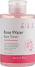 Parfumuri și produse cosmetice Toner pe bază de apă de trandafiri - Secret Key Rose Water Base Toner