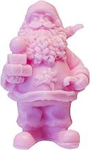 """Parfumuri și produse cosmetice Săpun natural """"Sfântul Nicolae cu cadouri"""" cu aroma de vișin - LaQ Happy Soaps Natural Soap"""