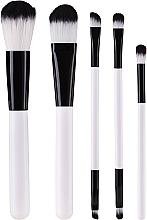 Parfumuri și produse cosmetice Set pensule de machiaj în trusă - Glamza