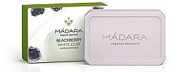 """Parfumuri și produse cosmetice Săpun pentru față """"Mure și Argilă albă"""" - Madara Cosmetics Blackberry and White Clay Soap"""