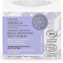Parfumuri și produse cosmetice Scrub-gelatină regenerant pentru față - Natura Siberica Organic Certified Mild Reviving Jelly-Scrub