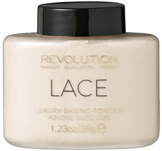 Pudră de față - Makeup Revolution Lace Luxury Baking Powder