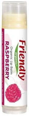 "Balsam de buze ""Zmeură"" - Friendly Organic Lip Balm Raspberry"