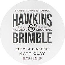 Parfumuri și produse cosmetice Pomadă de păr - Hawkins & Brimble Elemi & Ginseng Matt Clay
