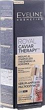 Parfumuri și produse cosmetice Ser multi-hidratant intensiv în 2 faze - Eveline Cosmetics Royal Caviar Therapy Serum Multinourishing Ampoule