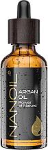 Parfumuri și produse cosmetice Ulei de argan - Nanoil Body Face and Hair Argan Oil