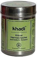 Parfumuri și produse cosmetice Praf de plante pentru păr - Khadi