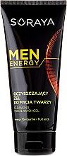 Parfumuri și produse cosmetice Gel de curățare pentru față - Soraya Men Energy