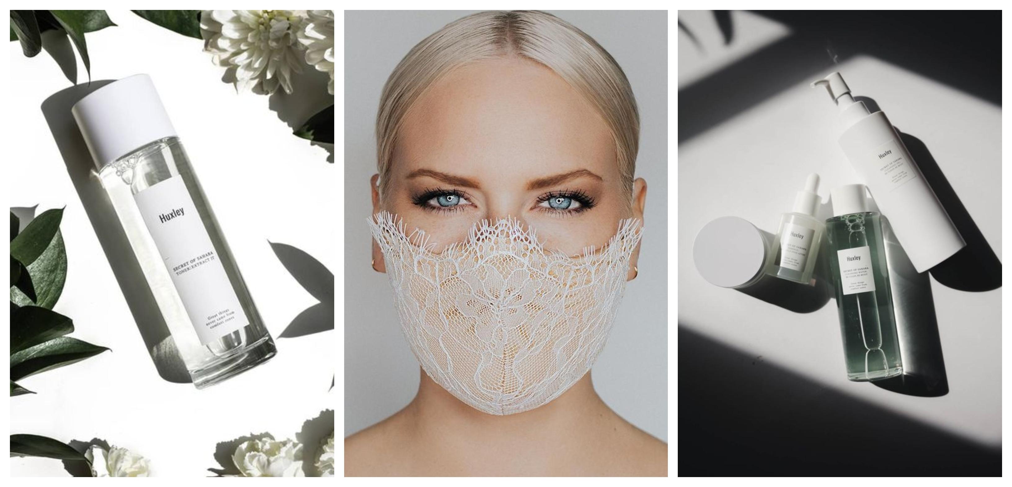 O piele sănătoasă sub masca de protecție