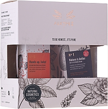 Parfumuri și produse cosmetice Set - Alkemie (eye/cr/15ml + h/cr/50ml)