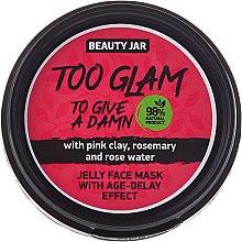 Parfumuri și produse cosmetice Mască-jeleu cu efect de lifting - Beauty Jar Too Glam To Give A Damn Face Mask