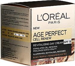 Parfumuri și produse cosmetice Cremă de zi pentru față - L'Oreal Paris Age Perfect Cell Revival Day Cream 50+