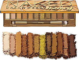 Parfumuri și produse cosmetice Paletă fard de ochi - Urban Decay Naked Honey Palette