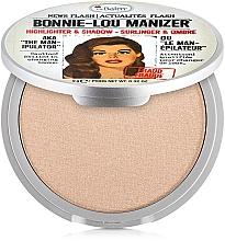 Parfumuri și produse cosmetice Iluminator, shimmer și fard - theBalm Bonnie-Lou Manizer Highlighter & Shadow (tester)