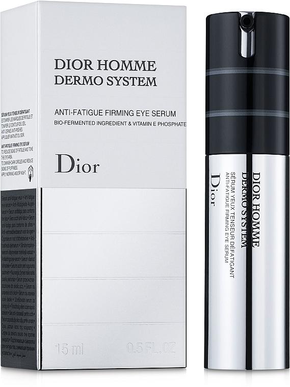 Ser de fermitate și întărire pentru bărbați - Dior Homme Dermo System Eye Serum 15ml — Imagine N1