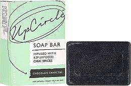 """Parfumuri și produse cosmetice Săpun """"Ciocolată și cărbune"""" - UpCircle Chocolate Charcoal Chai Soap Bar"""