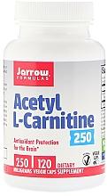 Parfumuri și produse cosmetice Acetil-L-carnitină - Jarrow Formulas Acetyl L-Carnitine 250 mg