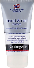 Parfumuri și produse cosmetice Cremă pentru mâini și unghii - Neutrogena Hand & Nail Cream