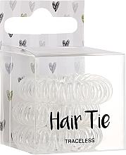Parfumuri și produse cosmetice Elastice pentru păr - Cosmetic 2K Hair Tie Clear
