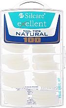 Parfumuri și produse cosmetice Tipsuri pentru unghii, k/k - Silcare Tipsy Exellent Natural