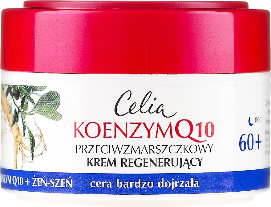 Cremă de noapte pentru față - Celia Coenzyme Q10 60+