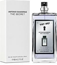 Antonio Banderas The Secret - Apă de toaletă (tester fără capac) — Imagine N2
