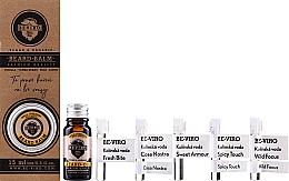 Parfumuri și produse cosmetice Set - Beviro Vanilla Palo Santo Tonka Boby (b/oil/10ml + b/balm/15ml + edc/5x1ml)