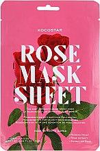 Parfumuri și produse cosmetice Mască de față - Kocostar Slice Mask Sheet Rose