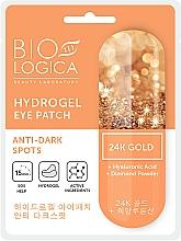 """Parfumuri și produse cosmetice Patch-uri """"Împotriva cercurilor întunecate"""" - Biologica Gold"""