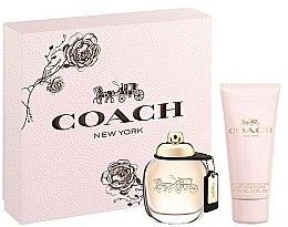 Parfumuri și produse cosmetice Coach New York Eau De Parfum - Set (edp/50ml + b/lot/100ml)