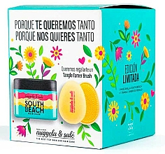 Parfumuri și produse cosmetice Set - Nuggela & Sule` (mask/250ml + brush)