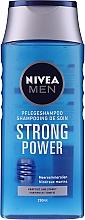 """Parfumuri și produse cosmetice Șampon pentru bărbați """"Energie și putere"""" - Nivea For Men Shampoo"""