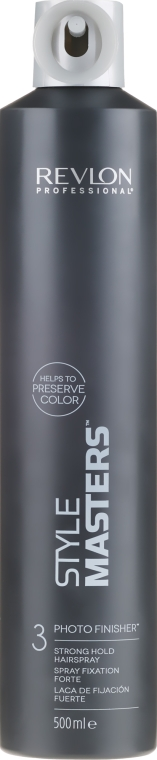 Spray de păr, fixare puternică - Revlon Professional Style Masters Photo Finisher Hairspray-3 — Imagine N1