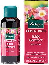 Parfumuri și produse cosmetice Ulei de baie - Kneipp Back Comfort Herbal Devil's Claw Bath Oil