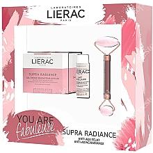 Parfumuri și produse cosmetice Set - Lierac Supra Radiance Set (f/cr/50ml + f/milk/30ml + roller/1pcs)