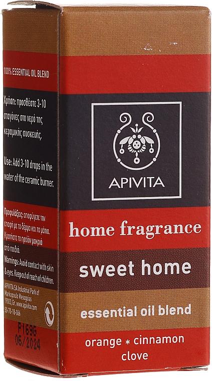 """Compoziție de uleiuri esențiale """"Cozy estate"""" - Apivita Aromatherapy Home Fragrance — Imagine N1"""