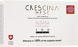 Parfumuri și produse cosmetice Tratament împotriva căderii părului, pentru femei, 200 - Crescina Re-Growth HFSC Formula 100%