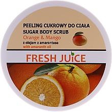 Parfumuri și produse cosmetice Scrub cu zahăr pentru corp - Fresh Juice Orange and Mango