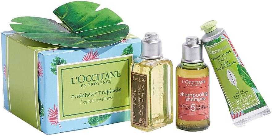 Set - L'Occitane Verbena Tropical Freshness (sh/gel/50ml + shmp/50ml + h/cr/30ml) — Imagine N1