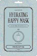 Parfumuri și produse cosmetice Mască hidratantă de țesut pentru față - Kocostar Hydrating Happy Mask