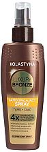 Parfumuri și produse cosmetice Spray-autobronzant pentru față și corp - Kolastyna Luxury Bronze Tanning Spray
