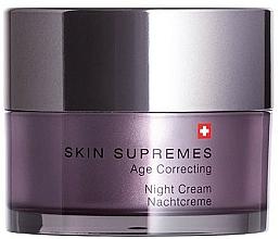 Parfumuri și produse cosmetice Cremă de noapte pentru față - Artemis of Switzerland Skin Supremes Age Correcting Night Cream