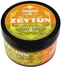 """Parfumuri și produse cosmetice Săpun de Alep """"Zeytun"""" pentru păr și corp - Hammam Organic Oils"""