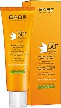 Parfumuri și produse cosmetice Cremă de protecție solară pentru ten gras SPF50+ - Babe Laboratorios Fotoprotector Facial Sunscreen