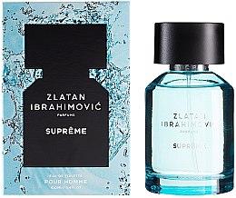 Parfumuri și produse cosmetice Zlatan Ibrahimovic Supreme Pour Homme - Apă de toaletă