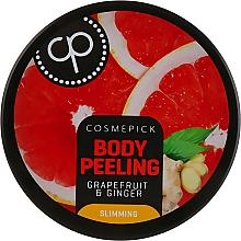 Parfumuri și produse cosmetice Peeling de zahăr cu aromă de grapefruit și ghimbir pentru corp - Cosmepick Body Peeling Grapefruit & Ginger