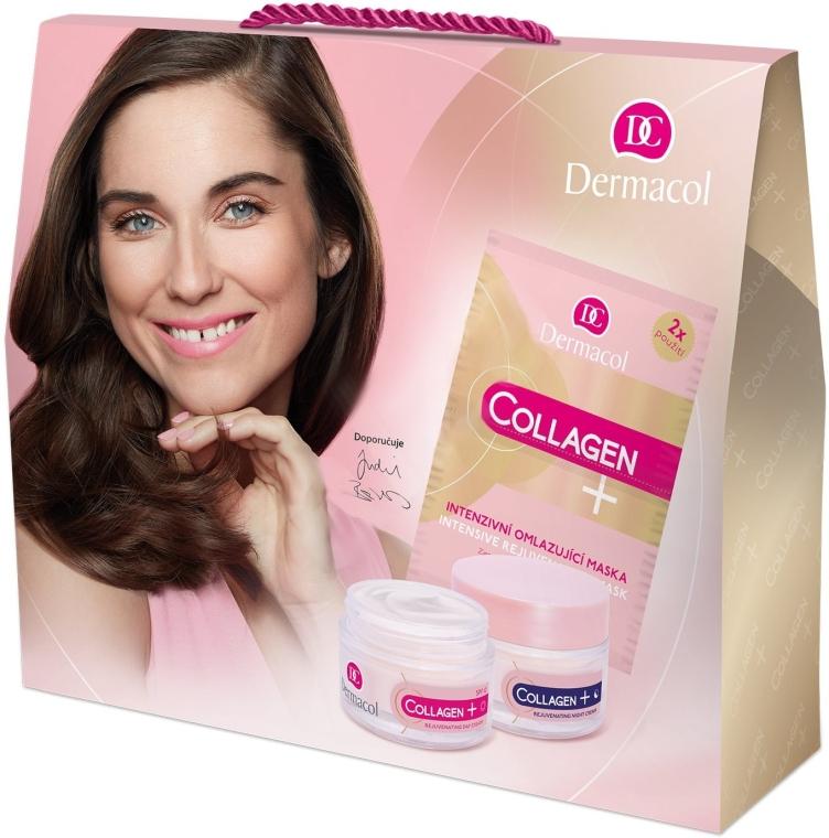 Set - Dermacol Collagen+ (d/f/cr/50ml + n/f/cr/50ml + f/mask/2x8g) — Imagine N1